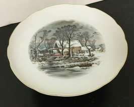 Vintage Avon Currier & Ives Cake Stand - $19.99