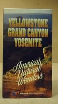 Questar Yellowstone Grand Canyon Yosamite VHS M... - $5.17