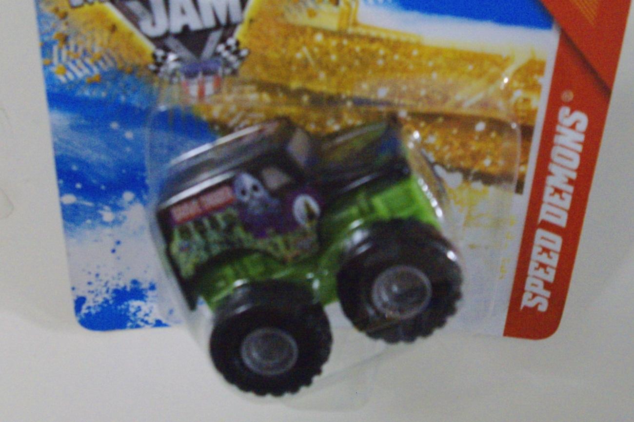 Hot Wheels Monster Jam Grave Digger Speed Demons truck - New