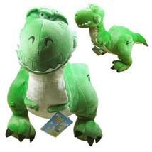 "Toy Story 3 Disney Character Plush Rex Green Dinosaur 16"" Tall Doll -Rare - $25.62"