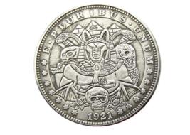 New Hobo Nickel Set God Of Death Egyptian Egypt Morgan Dollar American U... - $9.49