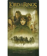 Lord Of The Rings Fellowship Of The Ring VHS Elijah Wood Liv Tyler - $2.69