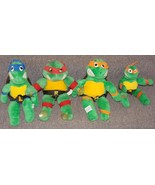 Vintage 1980s Lot of 4 Teenage Mutant Ninja Turtles Stuffed Toys - $44.99