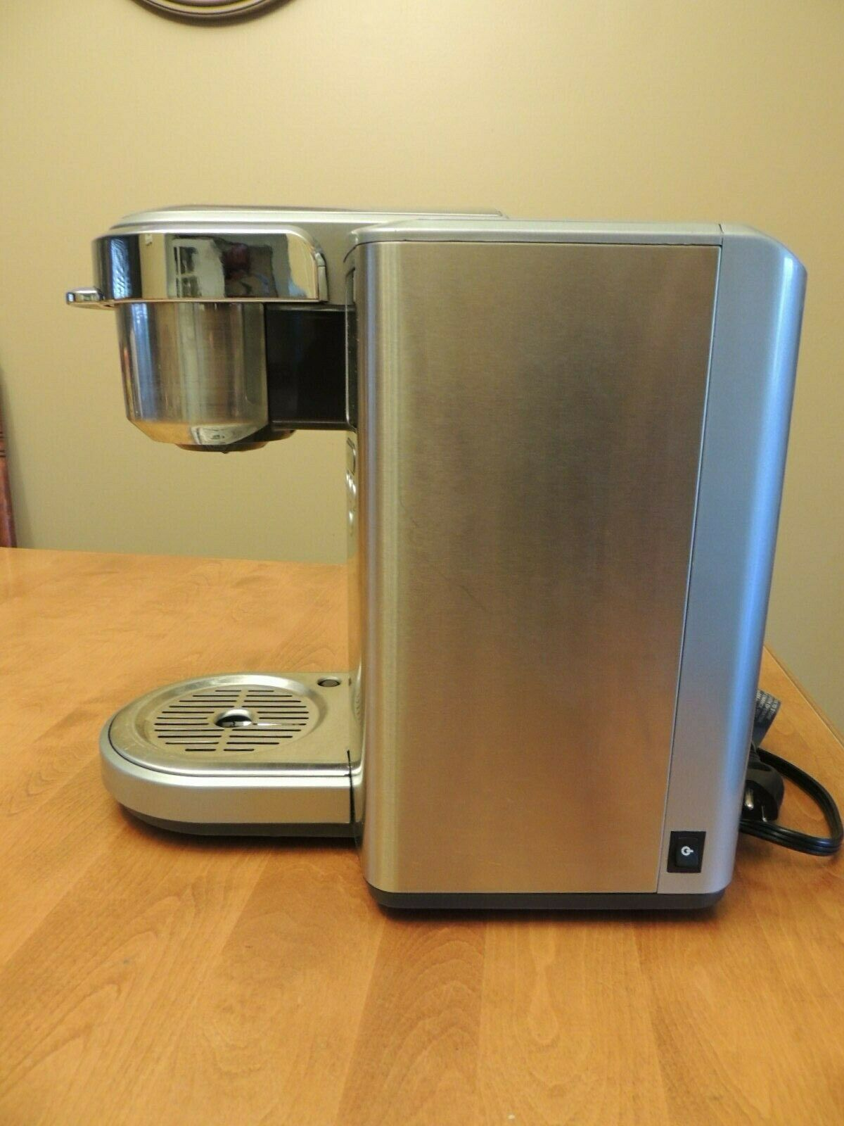 Breville BKC 700 XL Stainless Steel Gourmet Keurig K- Cup Coffee Brewer BKC700XL image 4