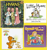 Kids' 4-book set: Little Hymns, This Little Light of Mine, Count Your Bl... - $9.50