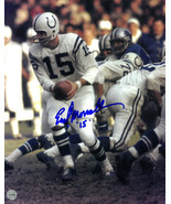 Earl Morrall signed Baltimore Colts 8X10 Photo #15 (hand off) - €15,42 EUR