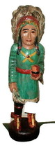 "Cigar Store Indian Wood Statue Hand carved  39"" antique style 5 to choos... - $321.75"