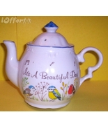 N.C. CAMERON (ENESCO) MADE IN JAPAN TEAPOT MUSIC BOX - $32.45
