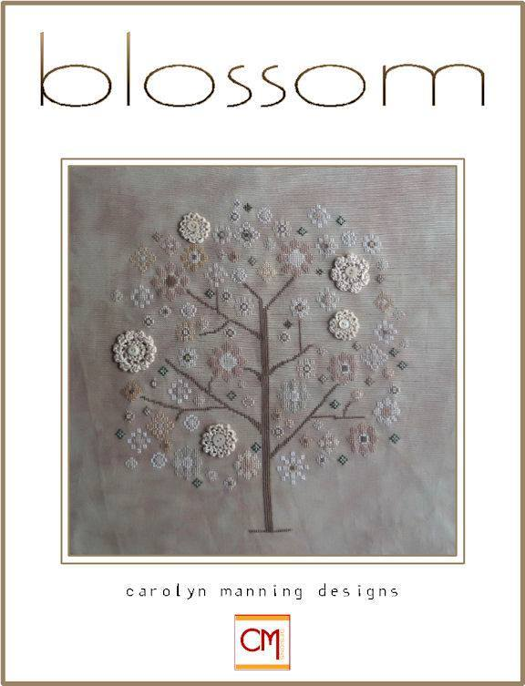Primary image for Blossom floral tree cross stitch chart CM Designs