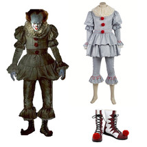 Stephen King's It Pennywise Clown Joker Cosplay Halloween Costume Shoes ... - $49.49+