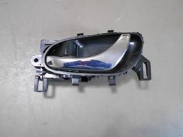 13 14 15 Nissan Sentra LH - Drivers Side Rear Door Interior Chrome Door Handle - $14.99