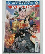 Justice League #1 (Regular Cover) 2016 DC Universe Rebirth - C4014 - $1.99