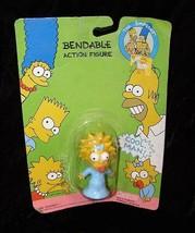 The Simpsons  Bendable Figure Bendy New Jesco 1990 Maggie Simpson - $16.99