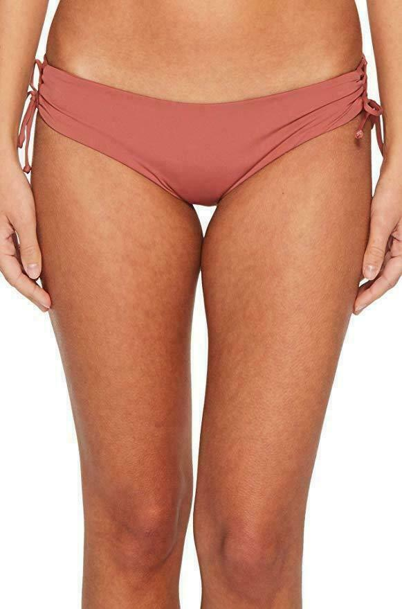 L SPACE Monica Wise Women Bikini Bottom Size SMALL Color SAH #B101