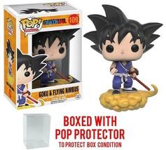 Funko Pop! Anime: Dragon Ball Z Goku Nimbus Vinyl Figure Pop BOX PROTECTOR - $41.64