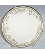 "LENOX FRESH MEADOW BREAD DESSERT PLATE S PLATE FLORAL 6 3/8""  GREEN PLAT... - $11.87"