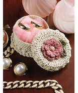 W264 Crochet PATTERN ONLY Little Mini Jewelry B... - $7.45