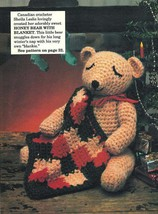 X178 Crochet PATTERN ONLY Honey Bear and Freddy Bear Doll Pattern - $7.50