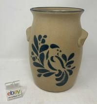 """Pfaltzgraff USA """"Folk Art"""" # 500 Crock / Milk Jar - 6 5/8"""" Tall - Nice! - $18.99"""