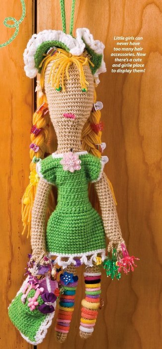 Primary image for X414 Crochet PATTERN ONLY Girlie Girl Doll Pattern