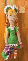 X414 Crochet PATTERN ONLY Girlie Girl Doll Pattern - $7.50