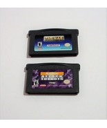 Nicktoons Attack of the Toybots and PAC MAN COLLECTION Nintendo GAME BOY... - $11.99