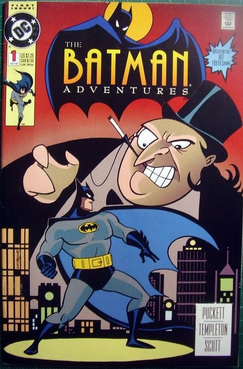 Primary image for BATMAN ADVENTURES 1 DC October 1992 TEMPLETON first printing