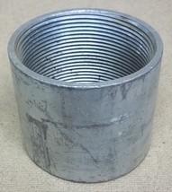 Conduit Coupling 3in Steel Threaded - $17.57