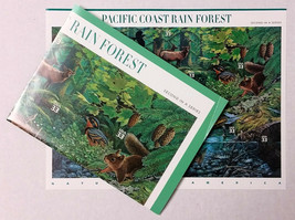 Nature In America USPS Stamps Sheet MNH Scott 3378 Pacific Rain Forest n... - $10.87