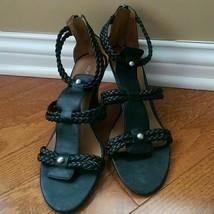 Franco Sarto Black Heels Size 8.5M - $19.99