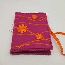 Hallmark Pink Fabric Note Portfolio With 10 Blank Notes & Envelopes - $5.82