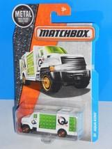 Matchbox 2016 MBX Adventure City #30 Aqua King Beverage Truck White - $2.50
