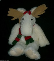 VINTAGE MAC & MOLLY MOOSE FOREST FRIENDS STUFFED ANIMAL PLUSH TOY COMMON... - $35.53