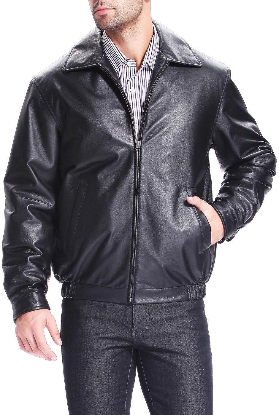 New Men's Stylish Lambskin Genuine Leather Motorcycle Biker Slim Fit Jacket  GN2