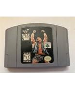 WWF War Zone (Nintendo 64, 1998) TESTED - $9.89
