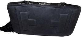 Tory Burch Blue Tassel Large Shoulder Bag Purse Satchel image 6