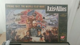Axis & Allies Spring 1942 The World is at War Board Game WWII Avalon Hil... - $16.82