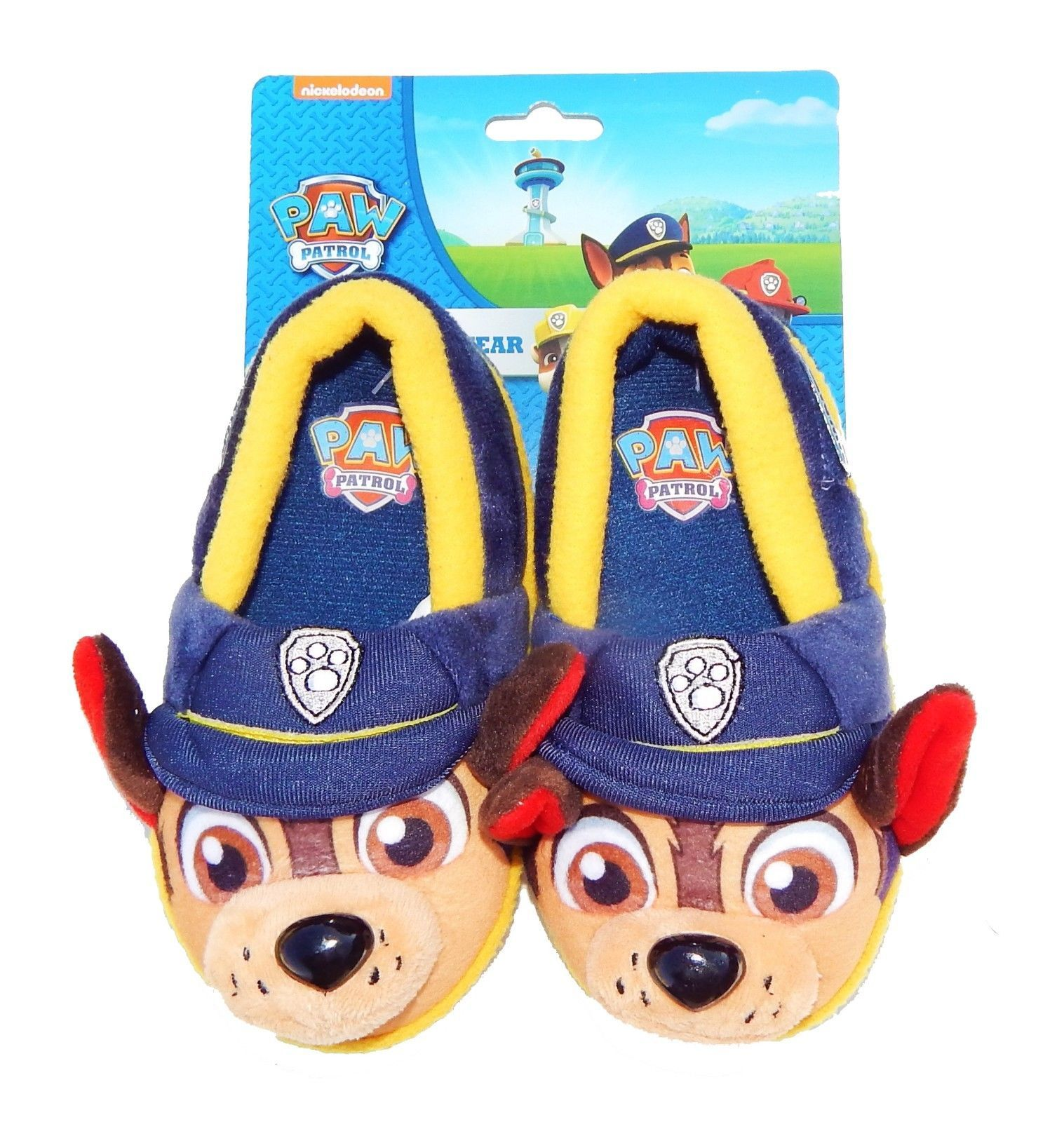 59b0d966fdd4 Paw Patrol Chase Police Pup Comfy Slippers and 50 similar items
