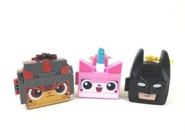 Lego Movie 2 Lot of 3 Game Toy Case Keychain McDonalds Happy Meal 2019 - $15.79