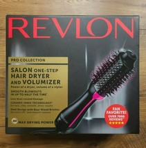 Revlon One-Step Hair Dryer And Volumizer Hot Air Brush, Black - $49.99