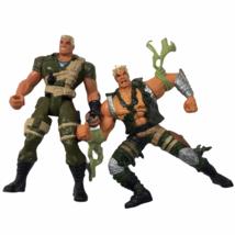 GI Joe Extreme 1995 Good vs Evil Series Lt Stone 5.5inch Tall Figures LOT - $18.52