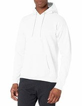 Hanes Men's Pullover Ecosmart Fleece Hooded Sweatshirt white Large - $21.64