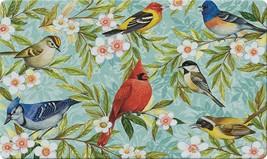 Toland Home Garden Bird Collage 18 x 30 Inch Decorative Floor Mat Colorf... - €22,00 EUR