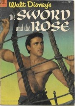 Walt Disney's the Sword and the Rose Four Color Comic #505, Dell 1953 VE... - $19.26