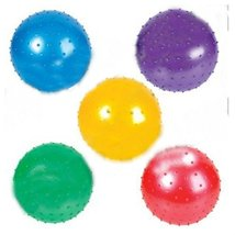 Knobby Ball Inflatable LOT OF 5 Colors Party Favors Autism Sensory Baby RM1710 - £10.28 GBP