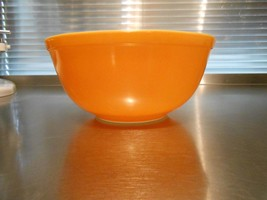 Pyrex Orange Citrus #403 Mixing Bowl - $30.00