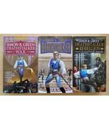 Simon R Green Deathstalker Lot of 3 Books War Rebellion pbs - $15.75