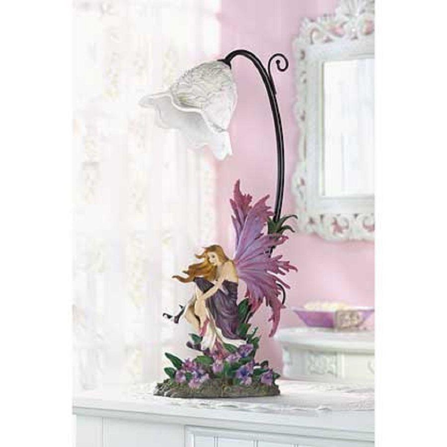 Fairy Lamp Purple Table Lamp - New