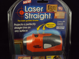Laser Straight Guided Leveler With Built In Bubble Levels ~ NEW ~ As See... - $12.69