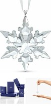 SWAROVSKII Christmas Bell Ornament Holiday Crystal Little Snowflake Star w/ box - $52.64